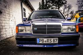 mercedes 190e avantgarde azzurro by don raul 1 via flickr my