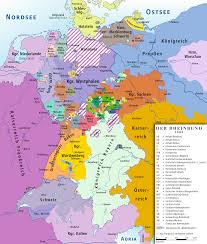 Hannover Germany Map by Confederation Of The Rhine 1808 Full Size