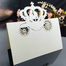 cinderella wedding invitations aliexpress buy 50pcs party invitation decorations table