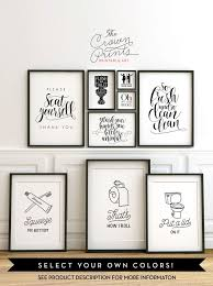 wall decor for bathroom ideas best 25 bathroom wall ideas on bathroom signs