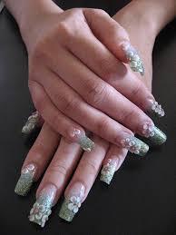 3d nail designs she12 girls beauty salon u2013 3d flowers acrylic