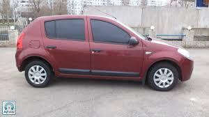 renault sandero 2011 купить автомобиль renault sandero 2011 красный с пробегом