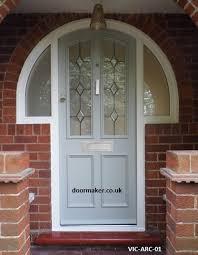 victorian arched front door vic arc 01 victorian doors bespoke
