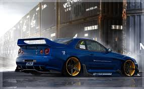 r34 nissan skyline r34 lb by anqui on deviantart