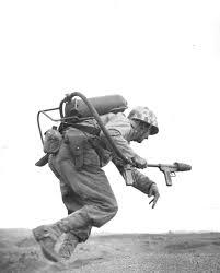 Marines Holding Flag 23 February 1945 U S Marines Raise The Flag On Mount Suribachi