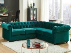 canap d angle en velours canapes chesterfield pas cher chesterfield cuir ou tissu