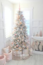 pink christmas tree decor ideas southern living blush pink and white christmas tree