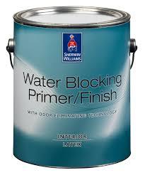 sherwin williams water blocking primer finish description a zero