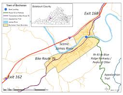 Appalachian Trail Virginia Map by Town Of Buchanan Getting Here