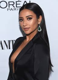 in long hair shay mitchell looks unrecognizable with long blonde hair brit co