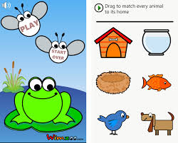 wimzoo educational games roundup slurpy the frog smarty sharky