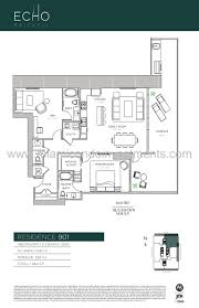 echo brickell floor plans