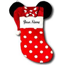amazon disney mouse ears 18 velour christmas stocking