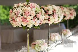 pink flower arrangements for weddings