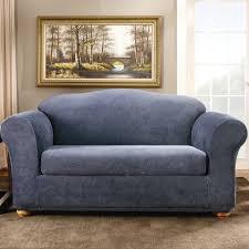sure fit stretch stripe box cushion sofa slipcover u0026 reviews wayfair