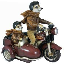 customer reviews for garden ornament motorbike meerkats