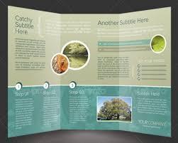 2 fold brochure template 35 quality brochure templates vandelay design