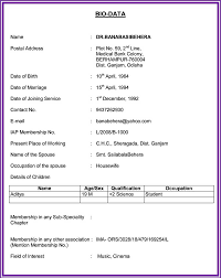 Sample Resume For Marriage by Marriage Resume Pdf Free Resume Example And Writing Download