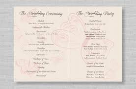 kraft paper wedding programs kraft paper ceremony program interesting wedding ceremony program