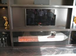 Custom Electric Fireplace by Artistic Design Nyc Fireplaces And Outdoor Kitchens