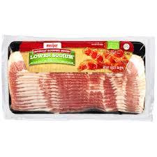 meijer low sodium bacon 16 oz meijer com