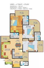 1150 sq ft 2 bhk 2t apartment for sale in express builders zenith