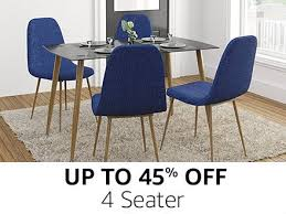 amazon dining table and chairs dining table buy dining table online at best prices in india