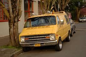 Dodge Ram Van - old parked cars 1978 dodge ram van