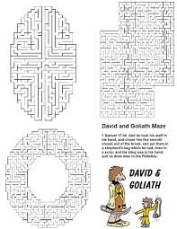 free david and goliath sunday lessons for kids