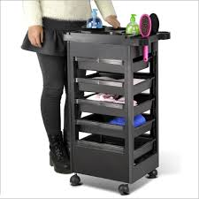 beauty salon spa equipment rolling trolley storage removable