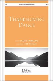 thanksgiving anthems for the church choir sheet at