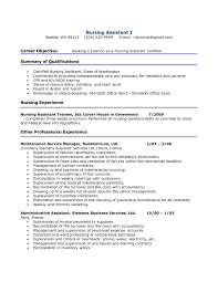Resume Samples Rn by Resume Sample Of Nursing Assistant