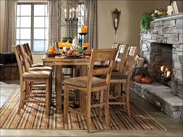 100 pub table with bench carmine 7 piece dining table set