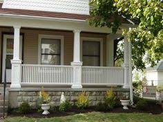 Front Porch Banisters Front Steps Railings And Newel Posts Porch Ideas Pinterest