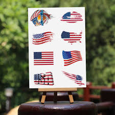 Customized Flag Wholesale Customized Flag Tattoo Sticker Online Buy Best