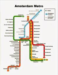 Map Of Amsterdam Map Cards Hunting 0325 Netherlands Map Of Amsterdam Metro