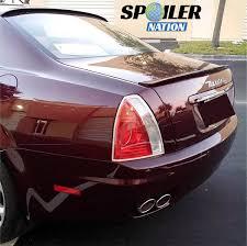 maserati 2004 2004 2012 maserati quattroporte tesoro style rear lip spoiler