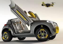 voiture renault renault kwid une voiture assistée par drone drone trend