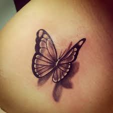 3d butterfly designs beautiful forearm abstract for