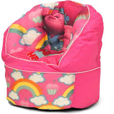 trolls bean bag chair pink walmart com