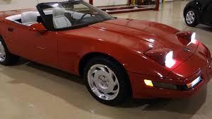 1995 chevy corvette for sale 1992 chevrolet corvette c4 convertible 17 603 documented original