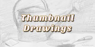 thumbnail sketches helloartsy