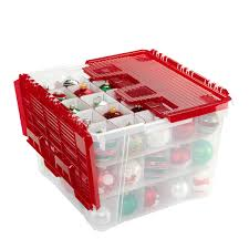 ornament storage box with dividers modern interior with