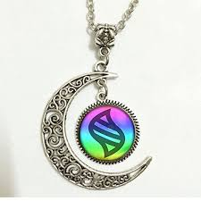 stone charm necklace images Charm crescent moon pokemon mega stone necklace jewelry pokemon jpg