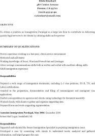 Immigration Paralegal Resume Paralegal Resume Templates Download Free U0026 Premium Templates
