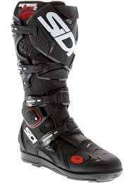 sidi motorcycle boots sidi black black crossfire 2 srs mx boot ebay