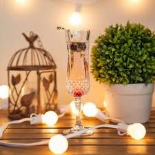 Patio String Lights by 25 U0027 Outdoor Patio String With 25 G50 Multicolor Party Lights