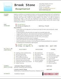 Medical Receptionist Resume Examples by Receptionist Resumes Click Here To Download This Medical Lab