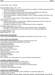 Military Police Resume Examples by Enlisted Resume Examples Military Resumes Livecareer Pics Photos