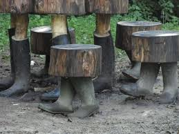 Best Home And Garden Wood And Rock Decor  Furniture Images On - Rock furniture